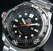 ORIENT/M-FORCE200m【オリエント/エムフォース】DIVER'S/ダイバーズウォッチメンズ腕時計自動巻パワーリザーブブラック文字盤メタルベルトMADEINJAPAN海外モデルSEL06001B0