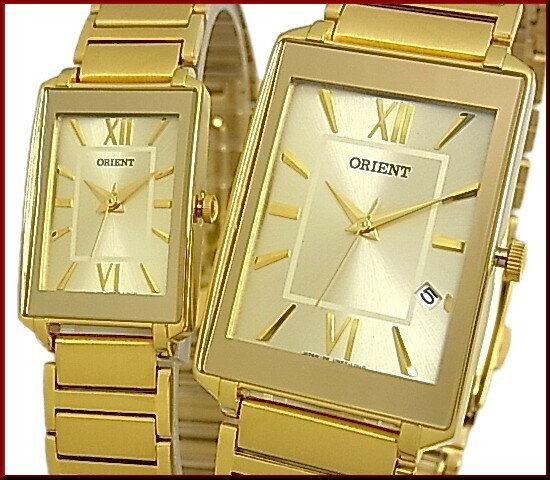 ORIENT【オリエント】スタンダード クォーツ レディース腕時計 ゴールド文字盤 ゴールドメタルベルト Made in JAPAN SUBTT006C0