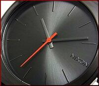 NIXON【ニクソン】TIMETELLER/タイムテラーボーイズ腕時計サープラス/ブラックナイロン【2012年SUMMER新作】【送料無料】A045-1151【_包装選択】(国内正規品)