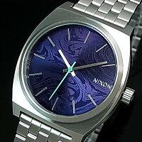 NIXON【ニクソン】TIMETELLER/タイムテラーボーイズ腕時計パープル文字盤メタルべルト【2016年新作】【送料無料】A045-230(国内正規品)