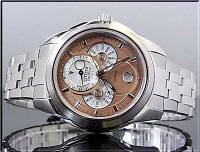 【CITIZEN/シチズン】コンプリケーションメンズソーラー腕時計ピンク文字盤メタルベルト【送料無料】BU0011-63Z海外モデル【楽ギフ_包装選択】【YDKG-k】