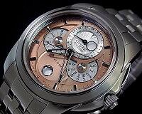 CITIZEN【シチズン】コンプリケーションメンズソーラー腕時計ピンク文字盤メタルベルトBU0011-63Z(海外モデル)【楽ギフ_包装選択】【02P01Jun14】