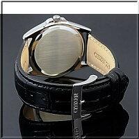 【CITIZEN/シチズン】スタンダードメンズ腕時計ブラック文字盤ブラックレザーベルトBF0580-06E海外モデル【楽ギフ_包装選択】【YDKG-k】