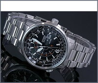 【CITIZEN/シチズン】PROMASTER/プロマスターNighthawk/ナイトホークメンズソーラー腕時計ブラック文字盤メタルベルトBJ7010-59E海外モデル【楽ギフ_包装選択】【YDKG-k】