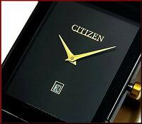 CITIZEN/Standard【シチズン/スタンダード】メンズ腕時計ブラック文字盤ブラックレザーベルトBG5089-19E(海外モデル)【楽ギフ_包装選択】【02P01Jun14】