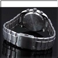 【CITIZEN/シチズン】クロノグラフチタンモデルメンズソーラー腕時計ブラック文字盤メタルベルトCA0021-53E海外モデル【楽ギフ_包装選択】【YDKG-k】