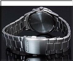 CITIZEN/COLLECTION【シチズン/コレクション】メンズ電波ソーラー腕時計ブラック文字盤メタルベルト(国内正規品)AS1050-58E【楽ギフ_包装選択】