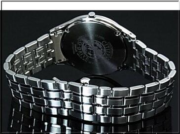 CITIZEN/エコドライブ【シチズン】メンズ ソーラー腕時計 ホワイト文字盤 メタルベルト AR0070-51A MADE IN JAPAN 海外モデル【並行輸入品】