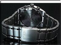 CITIZEN/Chronograph【シチズン/クロノグラフ】チタンモデルメンズソーラー腕時計ネイビー文字盤メタルベルトCA4011-55LMADEINJAPAN(海外モデル)