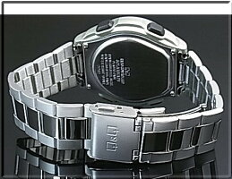 CITIZEN/Q&Q【シチズン/キューアンドキュー】メンズソーラー電波腕時計メタルベルトMHS7-200(国内正規品)