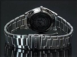 CITIZEN/Standard【シチズン/スタンダード】メンズソーラー腕時計ブラック文字盤メタルベルト海外モデル【並行輸入品】BJ6481-58E