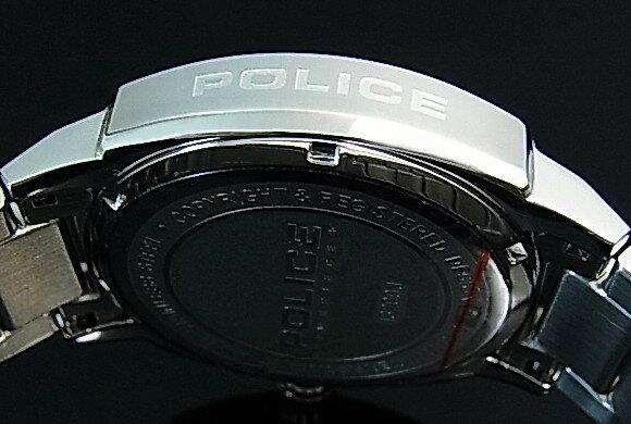 POLICE【ポリス】トリノ メンズ腕時計 マルチファンクション ネイビー文字盤 メタルベルト(国内正規品)13200JS-03MA