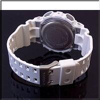 CASIO/G-SHOCK/Baby-G【カシオ/Gショック/ベビーG】ペアウォッチアナデジ腕時計ホワイト/ライトピンク(国内正規品)GA-110C-7AJF/BA-110BE-4AJF