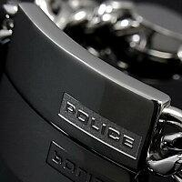 POLICE/ポリス【アクセ】ステンレスロゴプレートブレスレット【送料無料】PJ23363BSS01-S【_包装選択】