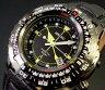 SEIKO/KINETIC【セイコー/キネテック】メンズ腕時計 ブラック文字盤 ブラックレザーベルト SKA425P1 (海外モデル)