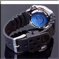 SEIKO/セイコー【200m防水ダイバーズ】自動巻メンズ腕時計ラバーベルトブラック文字盤JAPANMADESKX007J【楽ギフ_包装選択】【YDKG-k】
