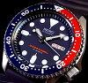 SEIKO/セイコー【200m防水ダイバーズ】自動巻メンズ腕時計ラバーベルトネイビー文字盤JAPANMADESKX009J【楽ギフ_包装選択】【YDKG-k】
