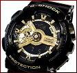 CASIO/G-SHOCK【カシオ/Gショック】Black Gold Series/ブラック ゴールドシリーズ アナデジ メンズ腕時計(国内正規品)GA-110GB-1AJF【02P03Dec16】