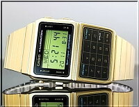 CASIO/カシオ【データバンク】DBC-611G-1ゴールドメタルベルト海外モデル【楽ギフ_包装選択】