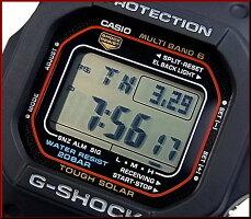 CASIO/G-SHOCK【カシオ/Gショック】ソーラー電波腕時計マルチバンド6New5600シリーズGW-M5610-1(海外モデル)【楽ギフ_包装選択】