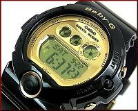 カシオ/CASIO【ベビーG/Gショック】腕時計ペアウォッチブラック/ゴールド【国内正規品】GD-X6900FB-1JF/BG-6901-1JF【楽ギフ_包装選択】