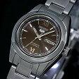 SEIKO/オートマチック【セイコー/自動巻】レディース腕時計【SEIKO5/セイコー5】メタルベルト ブラウン文字盤 セイコーファイブ SYMK25K1 海外モデル