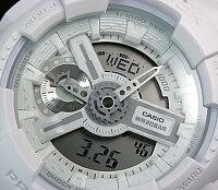 CASIO/G-SHOCK/Baby-G【カシオ/Gショック/ベビーG】ペアウォッチアナデジ腕時計ホワイト(国内正規品)GA-110BC-7AJF/BA-112-7AJF