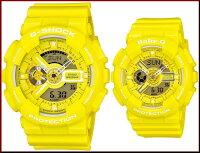 CASIO/Baby-G【カシオ/ベビーG】レディース腕時計イエロー(国内正規品)BA-110BC-9AJF【_包装選択】