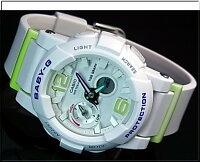 CASIO/G-SHOCK/Baby-G【カシオ/Gショック/ベビーG】ペアウォッチアナデジ腕時計ブラックXホワイト/イエロー(国内正規品)GA-700-1BJF/BGA-180-7B2JF