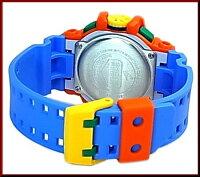 CASIO/G-SHOCK/HyperColors【カシオ/Gショック/ハイパーカラーズ】アナデジメンズ腕時計オレンジ/ブルー(海外モデル)GA-400-4A