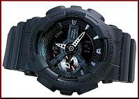 CASIO/G-SHOCK/Baby-G【カシオ/Gショック/ベビーG】ペアウォッチアナデジ腕時計ブラック(海外モデル)GA-110MB-1A/BA-112-1A