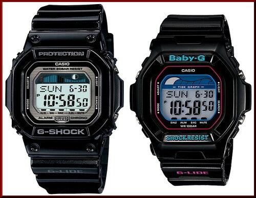 CASIO/G-SHOCK/Baby-Gペアウォッチ 腕時計 G-LIDE ブラック(国内正規...