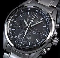 SEIKO/Chronograph【セイコー/クロノグラフ】メンズ腕時計グレー文字盤メタルベルトSNDC91P1海外モデル【楽ギフ_包装選択】【YDKG-k】