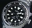 SEIKO/PROSPEX【セイコー/プロスペックス】キネテック GMT 200m防水空気潜水用ダイバーズ メンズ腕時計 ブラック文字盤 メタルベルト SUN019P1(海外モデル)
