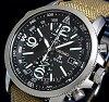 SEIKO/PROSPEX【セイコー/プロスペックス】メンズアラームクロノグラフソーラー腕時計ブラック文字盤ベージュキャンバスベルト(海外モデル)SSC293P1【楽ギフ_包装選択】