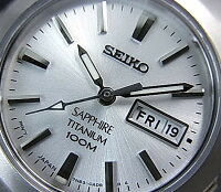 SEIKO/Quartz【セイコー/クォーツ】軽量チタンモデルペアウォッチ腕時計メタルベルトネイビー文字盤/シルバー文字盤SGG729P1/SXA111P1海外モデル【楽ギフ_包装選択】