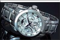 SEIKO/Premier【セイコー/プルミエ】ダイレクトドライブキネテッククメンズ腕時計シルバー文字盤メタルベルトSRX011P1(海外モデル)