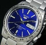 SEIKO/SEIKO5【セイコー5/セイコーファイブ】自動巻 メンズ腕時計 メタルベルト ネイビー文字盤 SNKD99K1 海外モデル【並行輸入品】