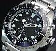 SEIKO/PROSPEX/KINETIC【セイコー/プロスペックス/キネテック】ダイバーズ メンズ腕時計 ブラック文字盤 メタルベルト SKA371P1 (海外モデル)【02P03Dec16】