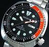 SEIKO/PROSPEX/200mdiver'swatch【セイコー/プロスペックス/200m防水ダイバーズ】自動巻ブラック/レッドベゼルメンズ腕時計メタルベルトブラック文字盤海外モデルSRP789K1