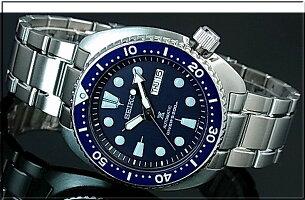 SEIKO/PROSPEX/200mdiver'swatch【セイコー/プロスペックス/200m防水ダイバーズ】自動巻ネイビーベゼルメンズ腕時計メタルベルトネイビー文字盤海外モデル【並行輸入品】SRPE89K1