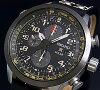 SEIKO/PROSPEX【セイコー/プロスペックス】メンズクロノグラフソーラー腕時計ブラックベゼルブラック文字盤ブラックレザーベルト(海外モデル)SSC423P1