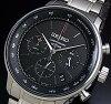 SEIKO/Chronograph【セイコー/クロノグラフ】メンズ腕時計メタルベルトブラック文字盤SSB165P1海外モデル