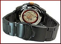 SEIKO/SEIKO5Sports【セイコー5スポーツ/ファイブスポーツ】60周年記念モデル自動巻メンズ腕時計ブラックメタルベルトブラック文字盤SRPA33K1海外モデル