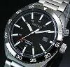 SEIKO/KINETIC【セイコー/キネテック】メンズ腕時計ブラック文字盤メタルベルトSKA617P1(海外モデル)