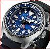 SEIKO/PROSPEX/200mdiver'swatch【セイコー/プロスペックス/200m防水ダイバーズ】キネテックGMTメンズ腕時計ネイビー文字盤ブラックラバーベルトSUN065P1(海外モデル)