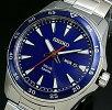 SEIKO/ソーラー時計【セイコー】メンズ腕時計メタルベルトネイビー文字盤SNE391P1海外モデル