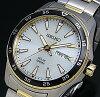 SEIKO/ソーラー時計【セイコー】メンズ腕時計コンビメタルベルトシルバー文字盤SNE394P1海外モデル