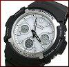 CASIO/G-SHOCK【カシオ/Gショック】ソーラー電波腕時計メンズブラック/ホワイト(海外モデル)AWG-M100S-7A