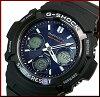 CASIO/G-SHOCK【カシオ/Gショック】ソーラー電波腕時計メンズブラック/ネイビー(海外モデル)AWG-M100SB-2A